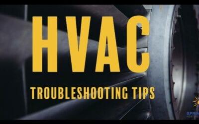 Top 5 HVAC Troubleshooting Tips